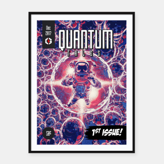 Thumbnail image of Quantum Tales 1st Issue Framed poster, Live Heroes
