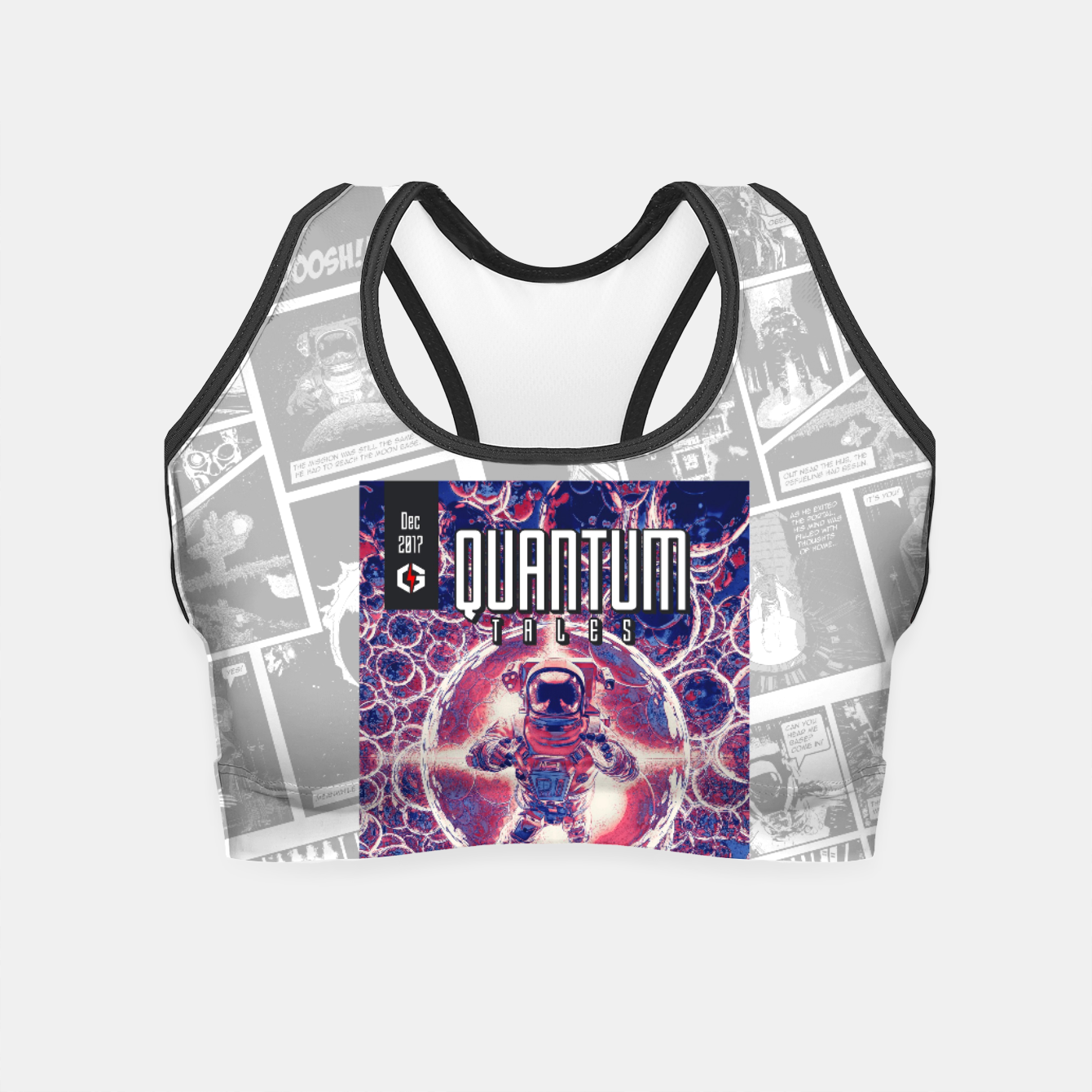 Image of Quantum Tales 1st Issue Crop Top - Live Heroes