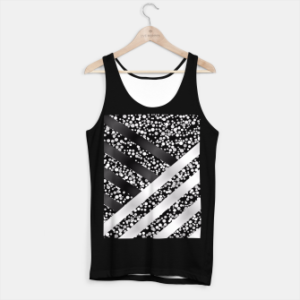 Thumbnail image of Black and silver Tank Top standard, Live Heroes
