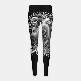 Miniaturka Winya No. 124 Girl's Leggings, Live Heroes