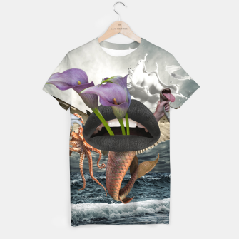 Thumbnail image of Collage LXIII T-shirt, Live Heroes