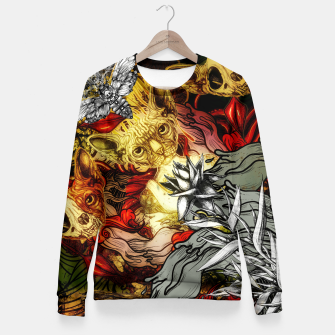 Thumbnail image of Fourth Mix Fitted Waist Sweater, Live Heroes