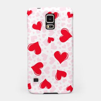 Miniaturka Red Hearts Samsung Case, Live Heroes