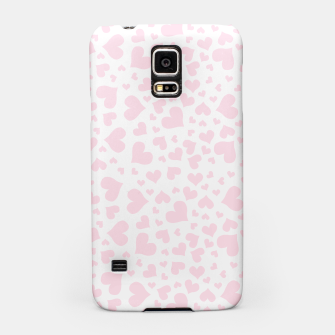 Miniaturka Pink Hearts Samsung Case, Live Heroes