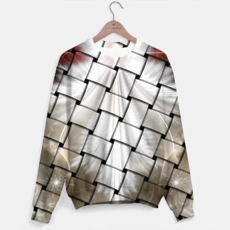 Thumbnail image of Angel Wings Snowflake Weave Sweater, Live Heroes