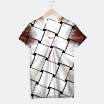 Angel Wings Snowflake Weave T-shirt thumbnail image