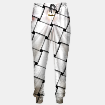 Thumbnail image of Angel Wings Snowflake Weave Sweatpants, Live Heroes