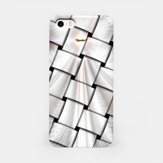 Angel Wings Snowflake Weave iPhone Case thumbnail image