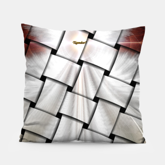 Thumbnail image of Angel Wings Snowflake Weave Pillow, Live Heroes