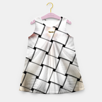Thumbnail image of Angel Wings Snowflake Weave Girl's Summer Dress, Live Heroes