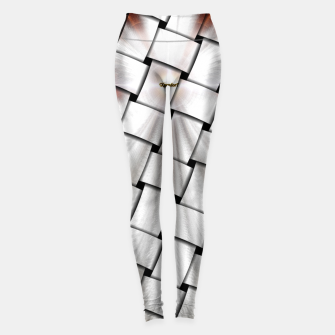 Thumbnail image of Angel Wings Snowflake Weave Leggings, Live Heroes