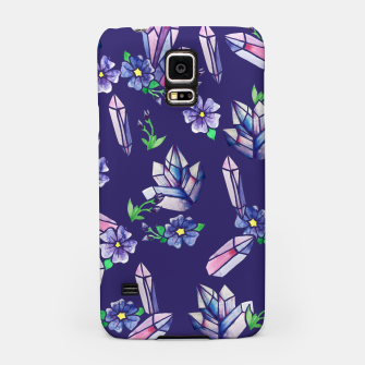Miniaturka Crystals and Flowers Magickal Samsung Case, Live Heroes