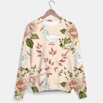 Thumbnail image of Goose Rose Sweater, Live Heroes