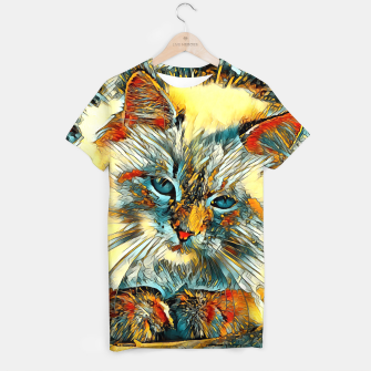Thumbnail image of AnimalArt_Cat_010_by_JAMColors T-shirt, Live Heroes