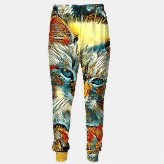 Thumbnail image of AnimalArt_Cat_010_by_JAMColors Sweatpants, Live Heroes