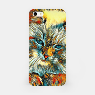 Thumbnail image of AnimalArt_Cat_010_by_JAMColors iPhone Case, Live Heroes