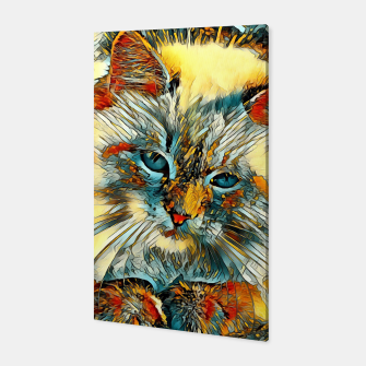 Thumbnail image of AnimalArt_Cat_010_by_JAMColors Canvas, Live Heroes