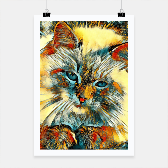 Thumbnail image of AnimalArt_Cat_010_by_JAMColors Poster, Live Heroes