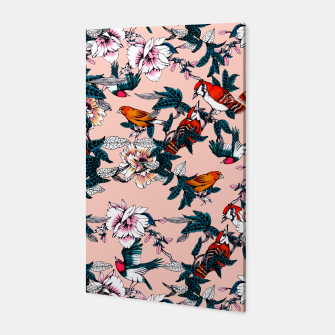 Thumbnail image of Flowery garden of birds II Canvas, Live Heroes