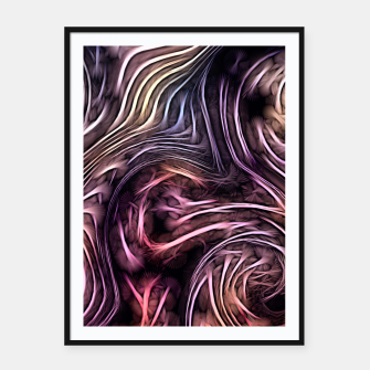 Miniaturka Abstract texture Framed poster, Live Heroes