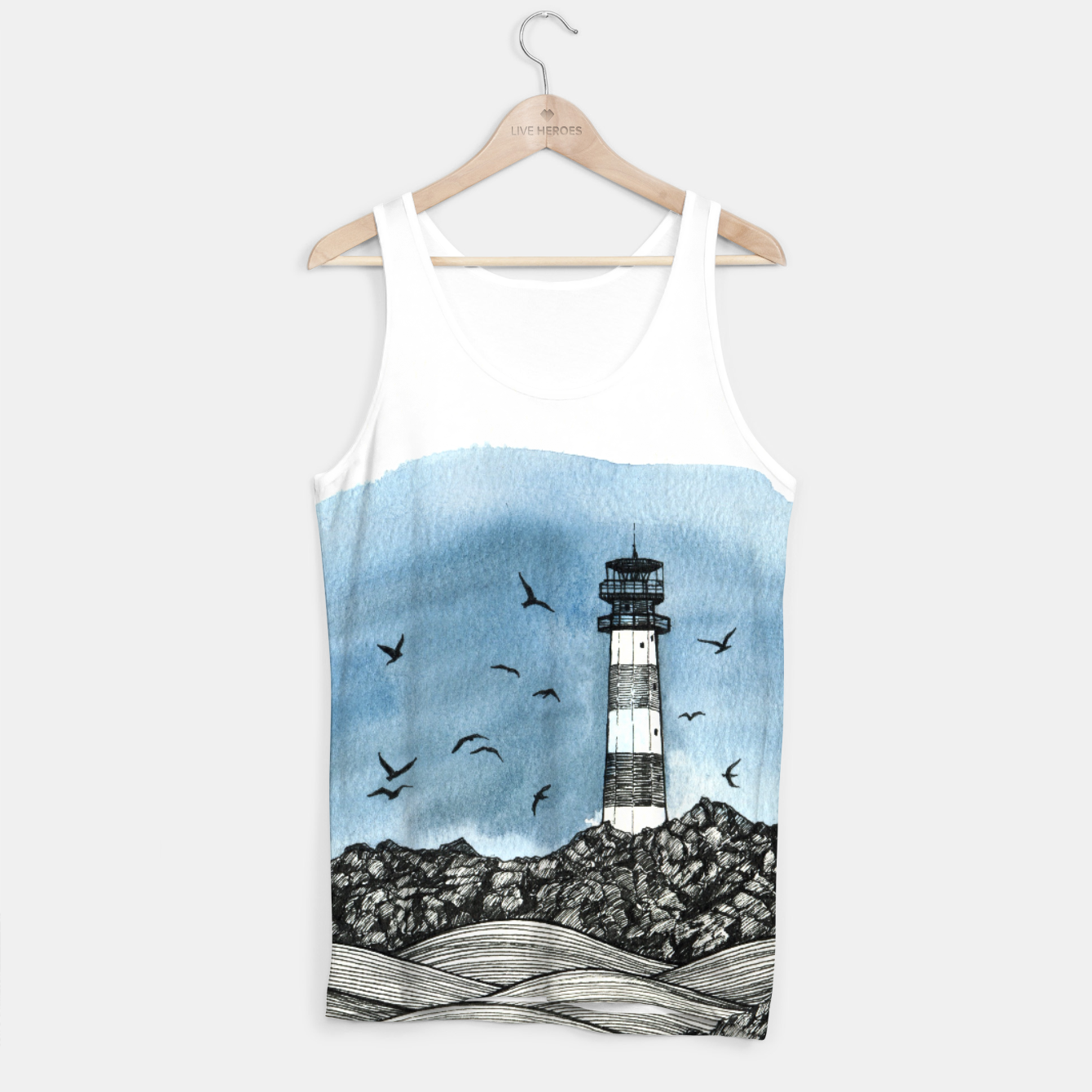 Image of Lighthouse Tank Top - Live Heroes