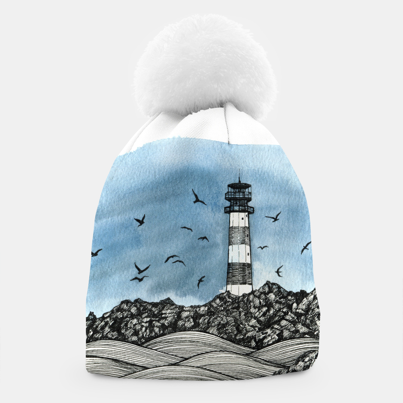 Image of Lighthouse Beanie - Live Heroes