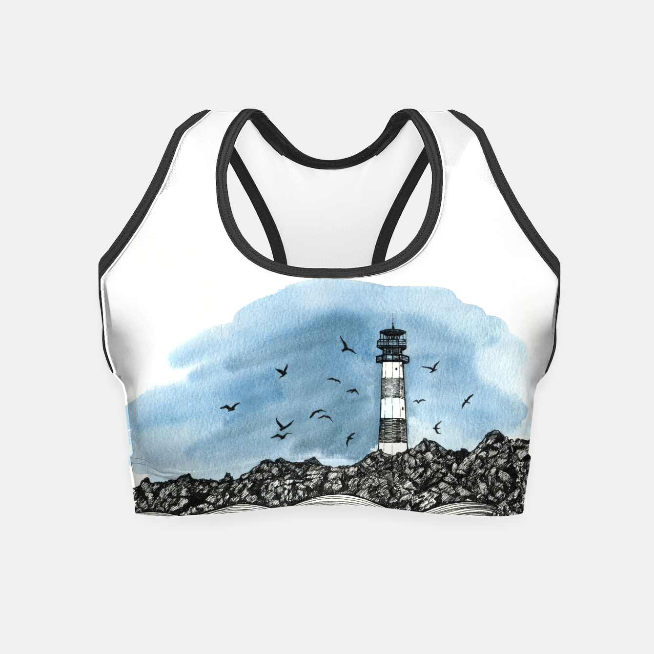 Image of Lighthouse Crop Top - Live Heroes
