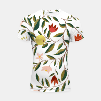 Thumbnail image of Lovely V3 Shortsleeve Rashguard, Live Heroes