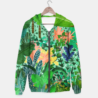 Thumbnail image of Dense Forest Hoodie, Live Heroes