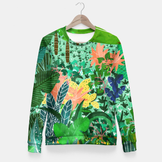 Thumbnail image of Dense Forest Fitted Waist Sweater, Live Heroes