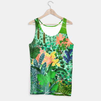 Thumbnail image of Dense Forest Tank Top, Live Heroes