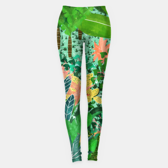 Thumbnail image of Dense Forest Leggings, Live Heroes