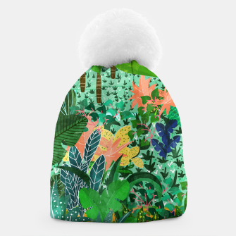 Thumbnail image of Dense Forest Beanie, Live Heroes