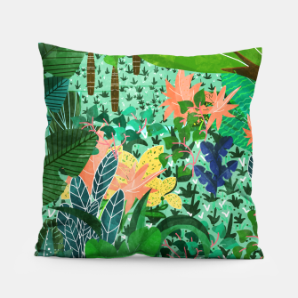 Thumbnail image of Dense Forest Pillow, Live Heroes