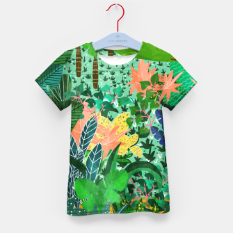 Thumbnail image of Dense Forest Kid's T-shirt, Live Heroes