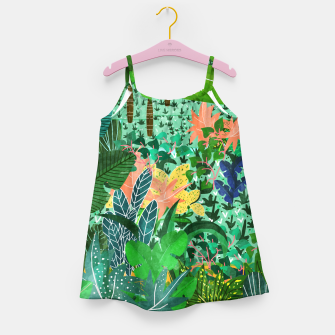 Thumbnail image of Dense Forest Girl's Dress, Live Heroes