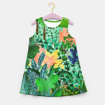Thumbnail image of Dense Forest Girl's Summer Dress, Live Heroes