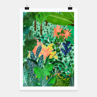Thumbnail image of Dense Forest Poster, Live Heroes