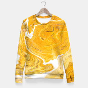 Thumbnail image of Snake Skin Marble Fitted Waist Sweater, Live Heroes