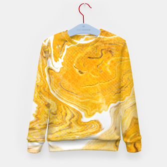 Thumbnail image of Snake Skin Marble Kid's Sweater, Live Heroes