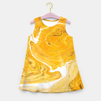 Thumbnail image of Snake Skin Marble Girl's Summer Dress, Live Heroes