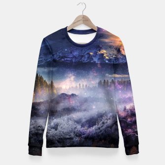 Miniatur Distant Worlds Fitted Waist Sweater, Live Heroes