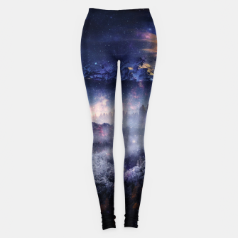 Thumbnail image of Distant Worlds Leggings, Live Heroes
