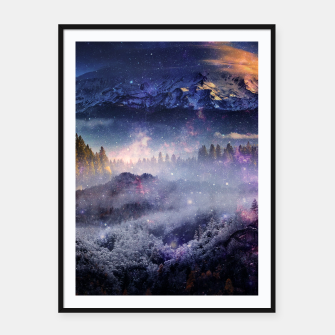 Thumbnail image of Distant Worlds Framed poster, Live Heroes