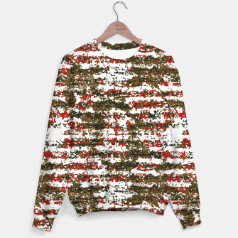 Miniaturka Grunge Textured Abstract Pattern Sweater, Live Heroes