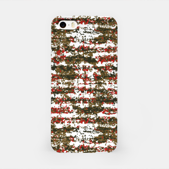 Miniaturka Grunge Textured Abstract Pattern iPhone Case, Live Heroes