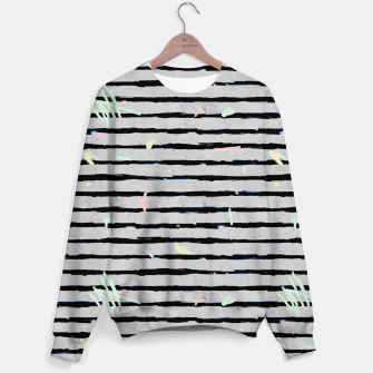 Thumbnail image of Whimsical Stripes Sweater, Live Heroes