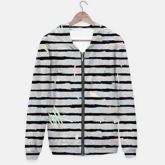 Thumbnail image of Whimsical Stripes Hoodie, Live Heroes