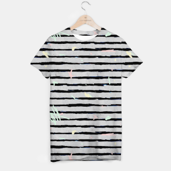 Thumbnail image of Whimsical Stripes T-shirt, Live Heroes