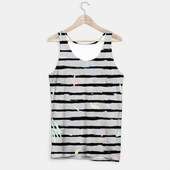 Thumbnail image of Whimsical Stripes Tank Top, Live Heroes